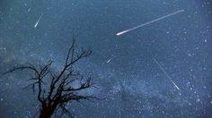 Pluies d'étoiles filantes en octobre