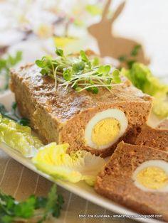 pieczen_rzymska_z_jajkami Meatloaf, Banana Bread, Food, Projects, Log Projects, Blue Prints, Essen, Meals, Yemek