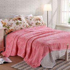 MMY Brand Throw Blanket 100% Cotton Vintage Blankets Solid Bed Sheet  200cmX230cm  MMY   4b0f32b98