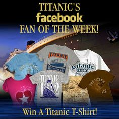 Discover amazing things and connect with passionate people. Titanic Photos, Titanic Museum, Online Gift Shop, Passionate People, Pop Tarts, Attraction, Fans, Friday, Facebook