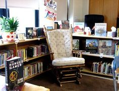 Creating a middle school classroom library.