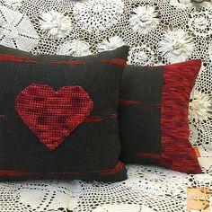 Коллекция из 2х декоративных подушек Теплые сердца