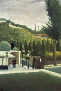 The Toll Gate, by Henri Rousseau