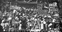 Refugios antiaéreos La construcción de los refugios antiaéreos de Almería, en la que trabajaron 400 obreros, se inició en octubre de 1936 hasta 1939. Archivo personal de Ruiz Marín