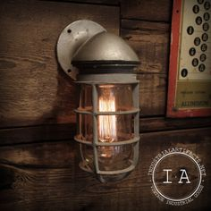 Vintage Industrial Explosion Proof Sconce by IndustrialArtifact, $165.00 http://www.etsy.com/au/listing/152763823/vintage-industrial-explosion-proof?ref=sr_gallery_15_search_query=industrial+furniture_view_type=gallery_ship_to=AU_page=2_search_type=all_facet=industrial+furniture
