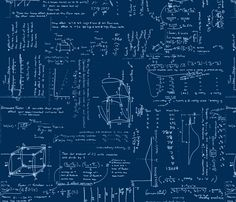 Statistical Analysis fabric by chipmunk_point on Spoonflower - custom fabric - NUMBER 4 of the Science Fair Design Contest!! Congrats :-)