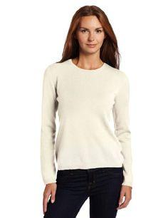 Sofie Women's Crew Neck 100\% Cashmere Sweater