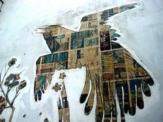 Seattle Street Art Graffiti http://www.seattlestreetart.com/ Seattle Street Art by LoisInWonderland, via Flickr