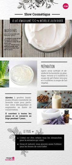 DIY Beauté : comment fabriquer un lait démaquillant ? - RTBF Tendance