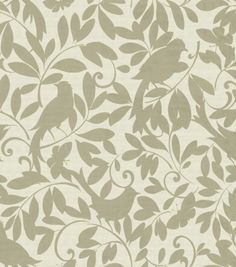 A beautiful foliage design to add an elegant touch to your room and your fabric based projects. Content: 100% Cotton Width: 54 Inches Fabric Type: Print Upholstery Grade: Heavy Upholstery Horizontal R