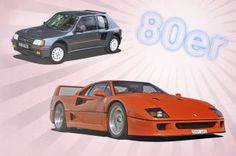 Autos der 80er - Franzosen und Italiener.