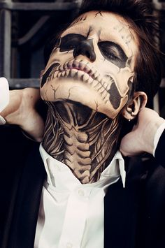 Zombie Skeleton #Makeup 2012