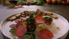Gerookte makreelmousse uit de aflevering 'Makreel uit Egmond aan Zee' #KMVB #kokenmetvanboven #voorgerechten