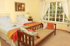Accommodation Plettenberg Bay Bed and breakfast Cornerway House B & B House Rooms, Bed And Breakfast, My Dream Home, Toddler Bed, Colours, Blankets, Bench, Furniture, Projects
