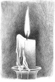 How to Draw a Candle   How to Draw Flames   Idiot's Guides