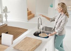 Hands-free faucets, fridges that remind you when to make a grocery run, and appliances you operate with a handheld device will become commonplace in '18.