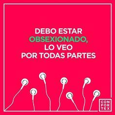 Tu también ves SEXO por todas partes? #confortex #alegria #smile #frases #love #amor #feliz #friends #cool #art #sexologia #sexoseguro #style #life #beauty #condones #condom #hot #colorful