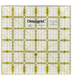Omnigrid Quilting Ruler With Angles 6''X6''