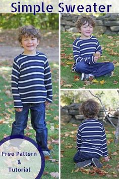 Sweater pattern and tutorial