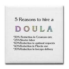Even though I didn't get to have a natural birth I had a wonderful doula who was great even in emergency c-section and would recommend everyone use one!  They are wonderful!