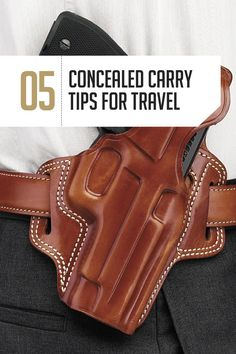 Concealed Carry Tips | Traveling with a Gun by http://guncarrier.com/concealed-carry-tips-ccw-holsters-traveling-with-a-gun