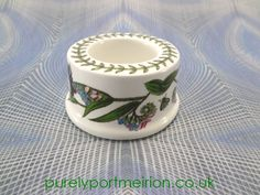 Portmeirion Botanic Garden Vintage Flat Style Eggcup