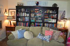 beautiful bookshelve