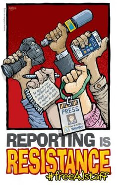 Cartoon: Reporting is Resistance