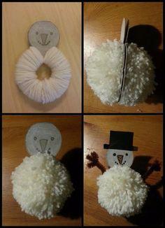 10 Most Inspiring kid crafts Ideas Winter Crafts For Kids, Winter Kids, Diy For Kids, Winter Activities, Christmas Activities, Snowman Crafts, Holiday Crafts, Winter Christmas, Kids Christmas