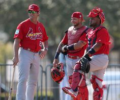 Cards Spring Training 2017.  Catchers :)