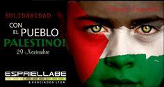 «Hoy 136 países reconocen el Estado de Palestina y su bandera ondea en las Naciones Unidas junto a la de los Estados Miembros. No obstante, los niños de Gaza o los habitantes de Naplusa, Hebrón y Jerusalén Oriental no perciben estos avances [...] reafirmemos nuestro compromiso con la consecución de la paz justa que merecen los pueblos de Israel y Palestina..»