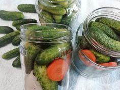 Ako pripraviť najlepšie zavárané uhorky, chrumkavé. Domáci RECEPT Pickles, Cucumber, Anna, Food, Essen, Meals, Pickle, Yemek, Zucchini