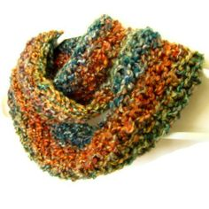 Keeping Warm with hand knitted and crocheted scarves, mittens, hats, and cowls