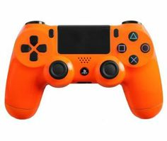 Amazon.com: Custom PlayStation 4 Controller Special Edition Glossy Orange Controller: Video Games #customcontroller #customps4controller #dualshock4 #ps4controller