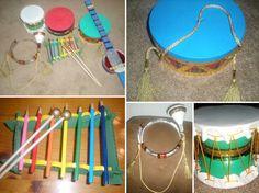15 музыкальных инструментов, которые можно сделать своими руками   Мел