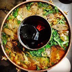 Don't miss the traditional yak hotpot while traveling to Lijiang and Shangri-La, Yunnan. #China #yunnan #hotpot #travel