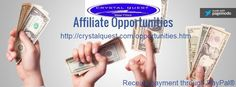 Would you like to make money while helping Crystal Quest reach a wider audience? Here's your chance! When you join the Crystal Quest Affiliate Program you can earn up to 20% commission on supplement sales by simply advertising for Crystal Quest on your website or blog. Click the link below for details.  http://crystalquest.com/affiliateprogram.htm