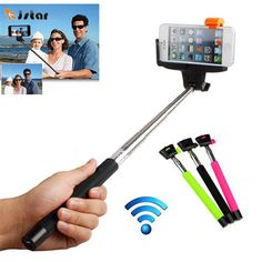 Bluetooth Selfie Stick Handheld Monopod Stick Extendable Tripod Selfie Selfie Stick With Real Package For IPhone Android IOS