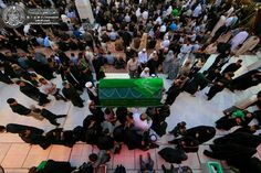 Atmosphere öf the shrine of MAULA A.S ON THE MARTYRDOM OF IMAM Sajjad ( A.S )