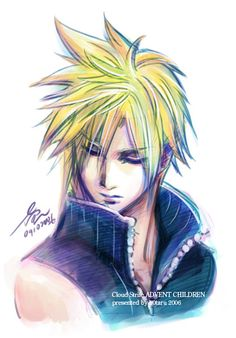 06missing pieces Cloud Strife by h0taru.deviantart.com on @deviantART