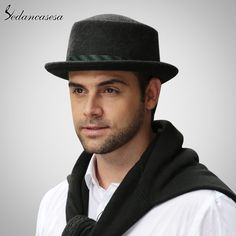 Male Fedora Hat Classic Style For Formal Church Hat With Australian Wool felt Hats for Men Oh just take a look at this! #shop #beauty #Woman's fashion #Products #Hat