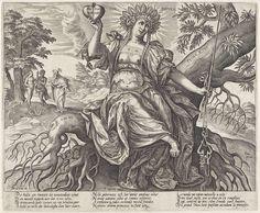 De Gouden Eeuw: de wet van de natuur, Hieronymus Wierix, 1563 - voor 1580