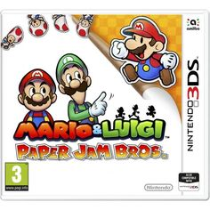 Mario & Luigi Paper Jam 3DS Game | http://gamesactions.com shares #new #latest #videogames #games for #pc #psp #ps3 #wii #xbox #nintendo #3ds
