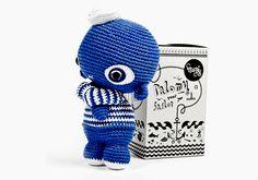 Matrose // crochet sailor via DaWanda.com // 29,90€