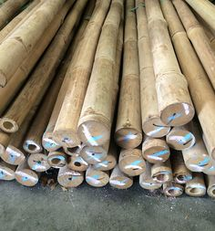 Looking to build something that will last? Use tropical Guadua poles for outdoor project like tiki huts, palapas, gazebo, arbors, and so much more. Bamboo Poles For Sale, Bamboo Panels, Bamboo Fence, Tiki Pole, Outdoor Fencing, Tiki Hut, Bamboo Furniture, Build Something, Arbors