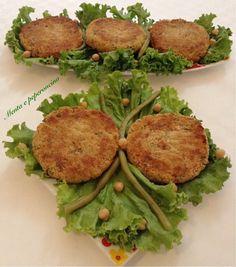 """Gli """"Hamburger di quinoa con fagiolini"""" sono semplicemente deliziosi, un secondo leggero e salutare adatto all'alimentazione di grandi e piccini, provateli!"""