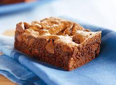 HERSHEY'S Kitchens | Fudgey and Thick Brownies with HERSHEY'S MINI KISSES Milk Chocolates Recipe