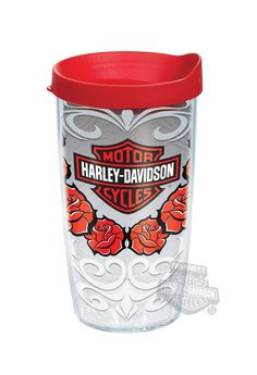 329b6f680a7 HRLY-I-16-ROSE-WRA - Harley-Davidson® Red Roses Wrap 16oz Tervis Tumbler -  Barnett Harley-Davidson®