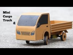 hello friends this is Gearpur this video is How To Make Mini Cargo Truck Very Simple
