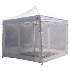 10u0027x10u0027 Pop Up Canopy Tent Mesh Sidewalls Screen Room Mosquito Net Sidewalls  sc 1 st  Pinterest & NFL Rawlings 9x9 ft. Straight Leg Canopy Tent - Miami Dolphins ...